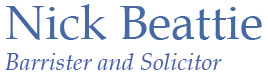 Nick Beattie Barrister & Solicitor